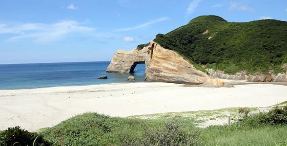 象の水飲み岩